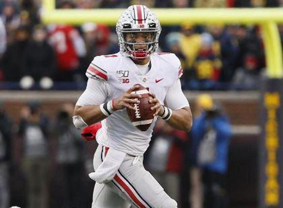 Justin Fields, Adelaide Aquilla named Ohio State Athletes of the Year