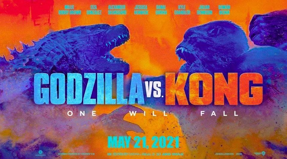<p>The most badass collaboration since Cardi B and Megan Thee Stallion? This mega monster movie is a simultaneous sequel to both Godzilla: King Of The Monsters and Kong: Skull Island, and something tells us the two legendary beasts are not going to play nicely. Expect destruction on an epic scale, with Millie Bobby Brown and Alexander Skarsgard as the humans putting up a fight.</p>