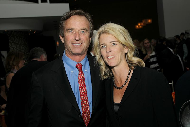 """This Oct. 15, 2012 photo released by Starpix shows Robert Kennedy Jr., left, and his sister filmmaker Rory Kennedy at the after party for her documentary, """"Ethel: A First-Hand Look Inside The Kennedy Family,"""" in New York. The film, about their mother Ethel Kennedy, wife of Robert F. Kennedy, debuts on Oct. 18 at 9 p.m. EST on HBO. (AP Photo/Starpix, Marion Curtis)"""