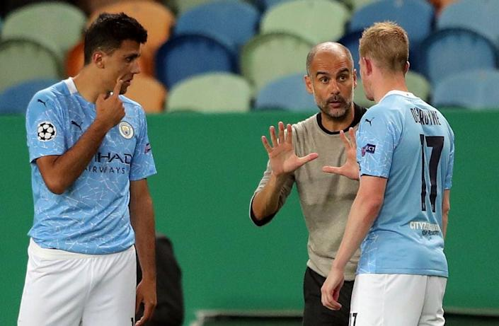 Man City face Wolves on Monday (POOL/AFP via Getty Images)