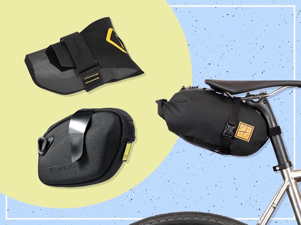 <p>We tested both discrete packs and bike packing-worthy luggage</p> (iStock/The Independent)