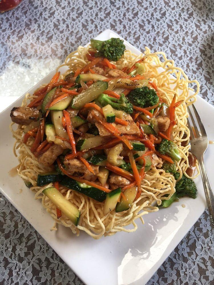 "<p><a href=""https://www.yelp.com/biz/an-hy-quan-vegetarian-restaurant-albuquerque"" rel=""nofollow noopener"" target=""_blank"" data-ylk=""slk:An Hy Quan Vegetarian Restaurant"" class=""link rapid-noclick-resp"">An Hy Quan Vegetarian Restaurant</a> in Albuquerque</p><p>""VERY satisfied with this authentic vegetarian Vietnamese food. Even if you are a meat lover, trust me there is a dish that will blow your mind. I will be coming back to try the coconut dishes, soups, and most of the crispy chow mien."" - Yelp user <a href=""https://www.yelp.com/user_details?userid=jwWtFjD2BzTtQuJ8Xit3hQ"" rel=""nofollow noopener"" target=""_blank"" data-ylk=""slk:Rachael T."" class=""link rapid-noclick-resp"">Rachael T.</a></p>"