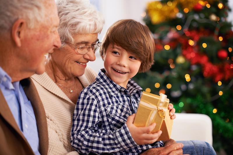 Christmas gift ideas for grandparents yahoo