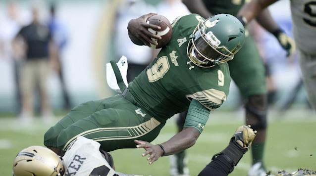 Can Quinton Flowers help lead USF to a repeat 11-win season. (Getty)
