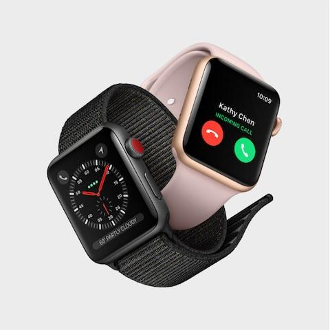 Apple Watch Series 3 - Credit: Apple