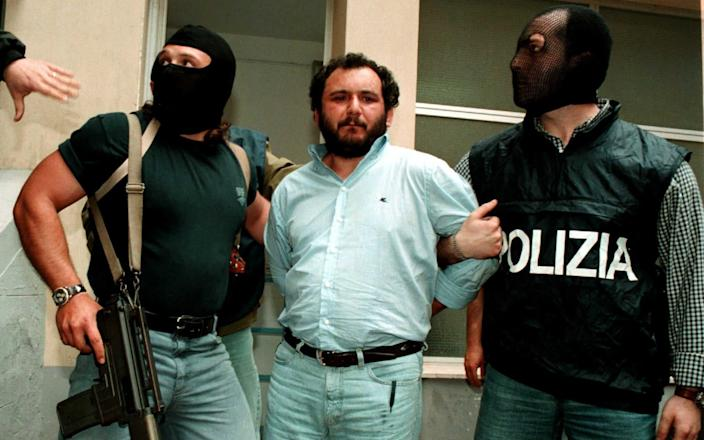 Giovanni Brusca was arrested in 1996 - Reuters