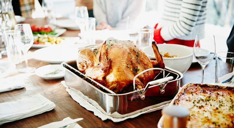 The roast turkey will be the focal point of many dinner tables this Christmas [Image: Getty]