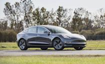 """<p>Some cars do more to keep you safe than others. The <a href=""""https://www.caranddriver.com/tesla/model-3"""" rel=""""nofollow noopener"""" target=""""_blank"""" data-ylk=""""slk:Tesla Model 3"""" class=""""link rapid-noclick-resp"""">Tesla Model 3</a> is one of those cars. A major part of the engineering behind the Model 3's self-driving future was to keep its occupants safe, especially while they wait behind the wheel for that <a href=""""https://www.caranddriver.com/news/a35785277/tesla-fsd-california-self-driving/"""" rel=""""nofollow noopener"""" target=""""_blank"""" data-ylk=""""slk:functionality to arrive"""" class=""""link rapid-noclick-resp"""">functionality to arrive</a>. The<a href=""""https://www.iihs.org/ratings/vehicle/tesla/model-3-4-door-sedan/2021"""" rel=""""nofollow noopener"""" target=""""_blank"""" data-ylk=""""slk:Model 3 earned Good ratings"""" class=""""link rapid-noclick-resp""""> Model 3 earned Good ratings</a> for all six IIHS crash tests, with a Superior rating for vehicle-to-vehicle crash avoidance, and an Advanced rating for vehicle-to-pedestrian avoidance. It's also safer than the Model S tested by IIHS in 2017 that received an Acceptable rating for driver-side small overlap, and a Poor rating for its inadequate headlights. Although not part of the IIHS test, Tesla's Sentry Mode will keep an eye on bumps and bruises that might happen while you're away. </p><p><a class=""""link rapid-noclick-resp"""" href=""""https://www.caranddriver.com/reviews/a30209598/2019-tesla-model-3-reliability-maintenance/"""" rel=""""nofollow noopener"""" target=""""_blank"""" data-ylk=""""slk:MODEL 3 TESTED"""">MODEL 3 TESTED</a> 