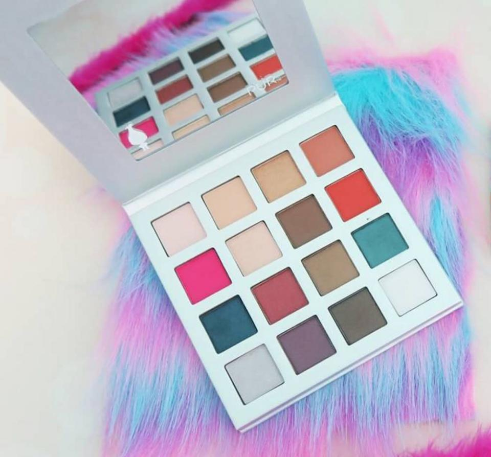 """Pur Cosmetics is coming out with a colorful """"Trolls"""" eyeshadow palette"""