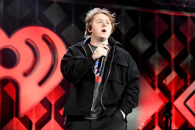 Lewis Capaldi performs during Power 96.1's Jingle Ball 2019 - Show on December 20, 2019 in Atlanta, Georgia. (Photo by Paras Griffin/Getty Images for iHeartMedia)