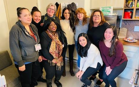 The Duchess visits the Downtown Eastside Women's Centre - Credit:  Facebook