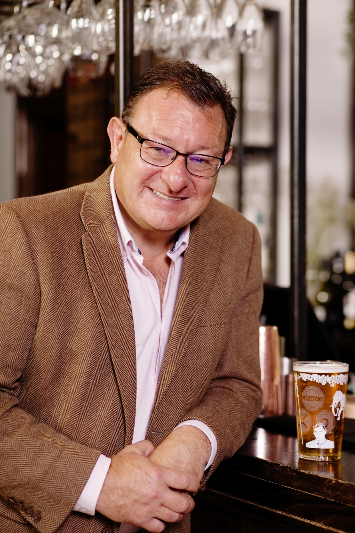 Andrew Andrea took over at the helm of Marston's on October 3 (Marston's/PA)