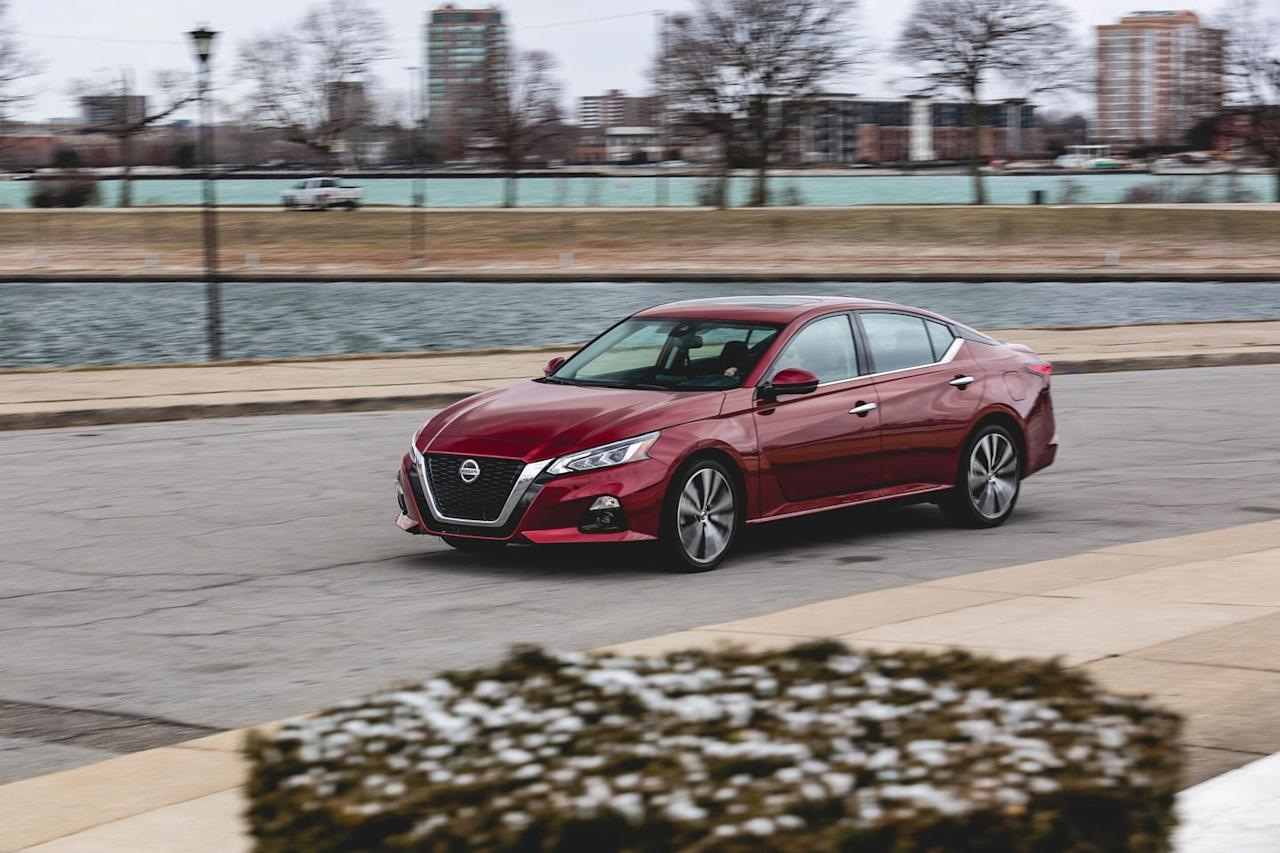 <p>Those three aren't half-hearted efforts, either; the Accord punched its way onto our 2018 10Best Cars list for the 33rd time, and both the Camry and the new-for-2019 Altima earned Editors' Choice awards.</p>
