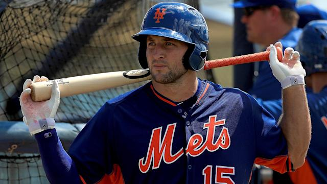 Tim Tebow's adventure in baseball continues.