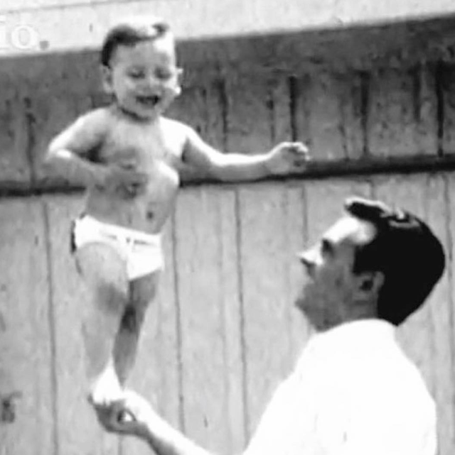 "<p>The dad-to-be shared this sweet throwback of him and his pop, vowing to do his best when his own little one gets here. ""I will certainly fall short of the father my pop was,"" he wrote, ""but I'm going to give it my all! #Balance #BillStamos #Hero"" (Photo: <a href=""https://www.instagram.com/p/BcvzqJOnfMu/?taken-by=johnstamos"" rel=""nofollow noopener"" target=""_blank"" data-ylk=""slk:John Stamos via Instagram"" class=""link rapid-noclick-resp"">John Stamos via Instagram</a>) </p>"