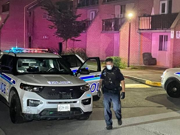 Shooting victim Hussein Najdi was rushed to hospital in critical condition, but he has since been upgraded to stable condition. (CBC - image credit)