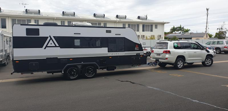 Ken Wilson explains because anyone can own a caravan, it is important people are aware of how to safely drive with one on the road. Source: Supplied/Ken Wilson