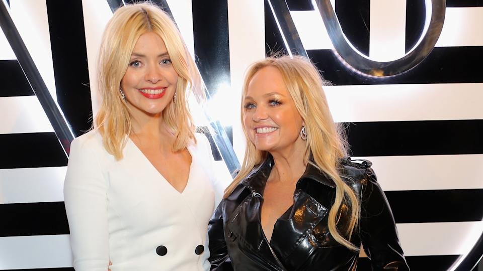 Holly Willoughby and Emma Bunton at a Brit Awards afterparty in 2018 (credit: Dave Benett/Getty Images for Warner Music Group)