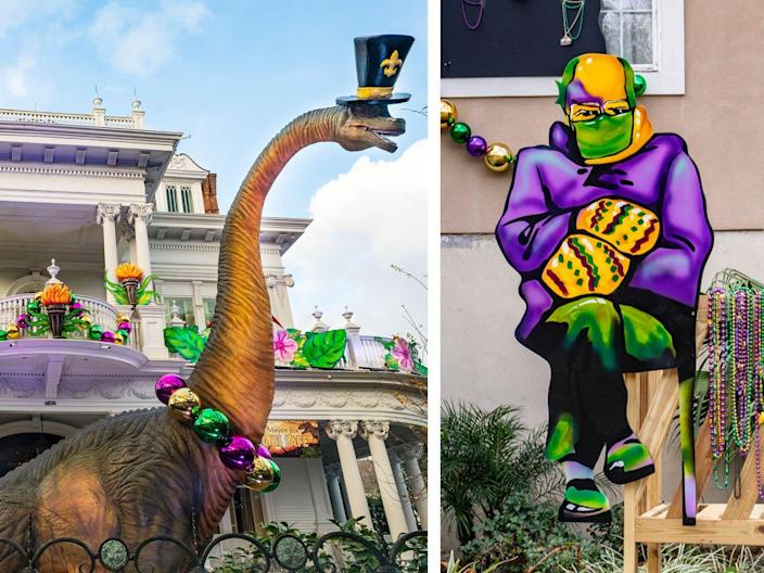 New Orleans house float diptych v2 dino bernie