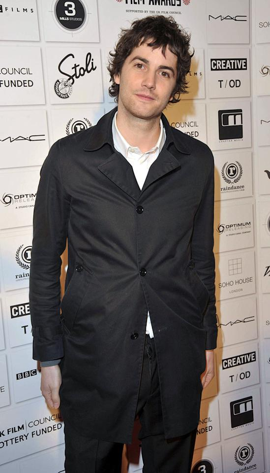 """<a href=""""http://movies.yahoo.com/movie/contributor/1809668296"""">Jim Sturgess</a> at the 2009 British Independent Film Awards in London - 12/06/2009"""