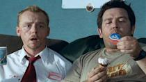 "<p> ""You've got red on you."" Simon Pegg and Nick Frost team up for a zombie comedy classic that doesn't skimp on buckets of the blood, but mostly stands out for its everyman quality, a rarity in the genre. </p> <p> After all, Pegg's Shaun is just a normal guy with normal problems: meddlesome parent-in-laws, a stuck-up housemate, and a girlfriend he loves but doesn't want to commit to. Throw in some deliciously gory action scenes directed by Edgar Wright and one of the most overly quippable scripts in history and you've got yourself a winner. </p>"