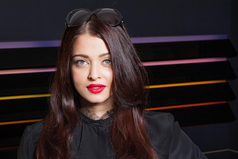 Actress Aishwarya Rai poses for portraits at the 66th international film festival, in Cannes, southern France, Monday, May 20, 2013. (AP Photo/Laurent Emmanuel)