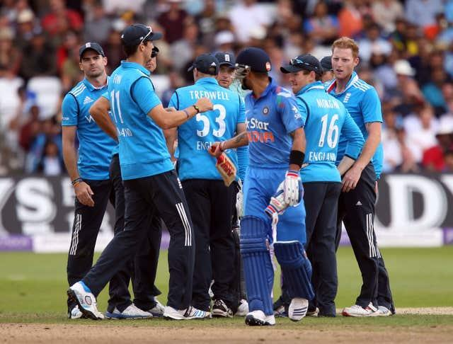 England and India are due to face each other in six ODI matches next summer