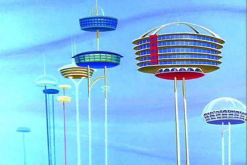 Jetsons-style houses