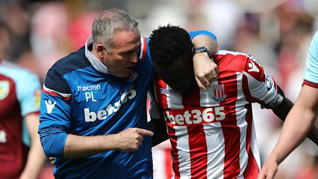 Mame Biram Diouf's first-half miss for Stoke City against Burnley was pinpointed by both managers as key after the game finished level.