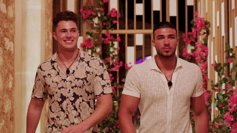 The bromance between Curtis Pritchard and Tommy Fury has been the most consistent relationship on 'Love Island' in 2019. (Credit: ITV)