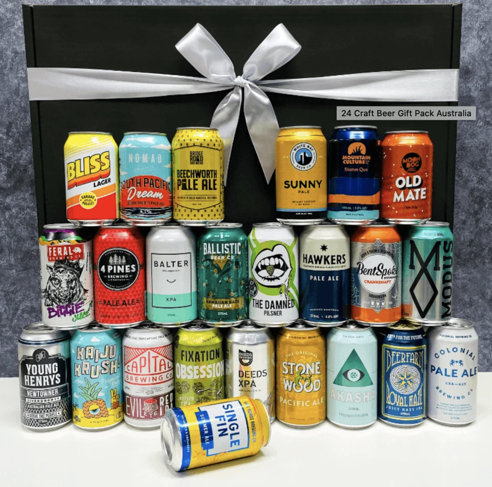 24 Beer Gift Pack, from $89.99 from Brewbouquets