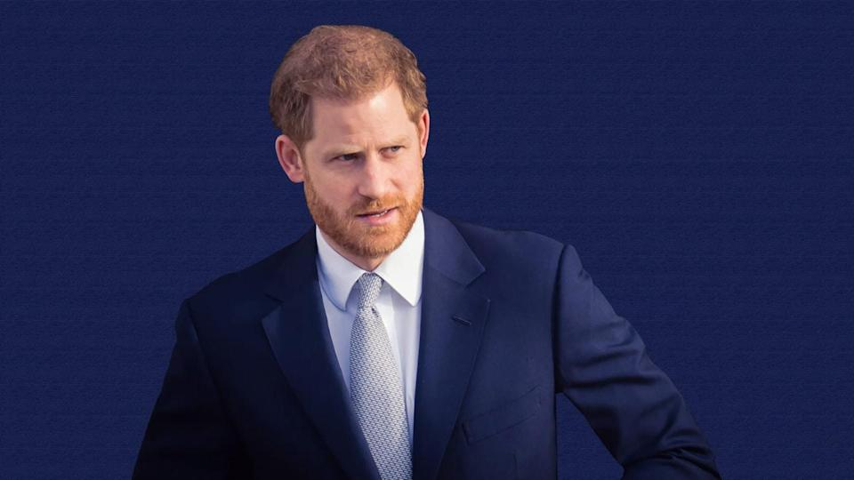 Prince Harry says his father has