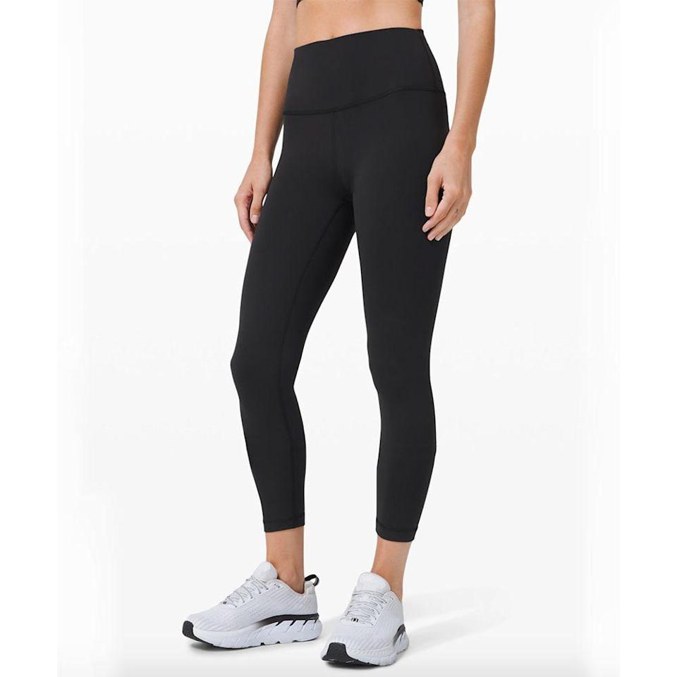 """<p><strong>Lululemon</strong></p><p>lululemon.com</p><p><strong>$98.00</strong></p><p><a href=""""https://go.redirectingat.com?id=74968X1596630&url=https%3A%2F%2Fshop.lululemon.com%2Fp%2Fgift-ideas%2FWunder-Train-HR-Tight-25%2F&sref=https%3A%2F%2Fwww.bestproducts.com%2Flifestyle%2Fnews%2Fg2100%2Fperfect-gift-ideas-under-100%2F"""" rel=""""nofollow noopener"""" target=""""_blank"""" data-ylk=""""slk:Shop Now"""" class=""""link rapid-noclick-resp"""">Shop Now</a></p><p>One of Lululemon's best-selling styles is now available in extended sizes! These Wunder Train tights are made with the brand's fastest-drying fabric to help manage heat and sweat, so she can stay super focused through any workout. They feel incredibly cool on the inside, and their four-way stretch adds extra support and comfort.</p>"""
