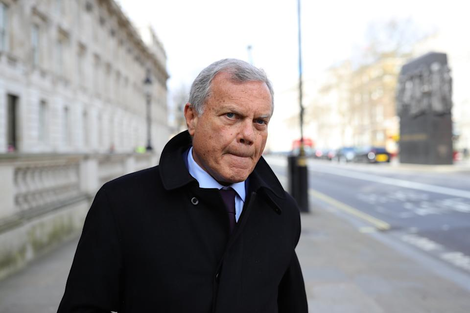 Sir Martin Sorrell's company acquired five marketing agencies last year and has snapped up four more since.Photo: Aaron Chown/PA via Getty