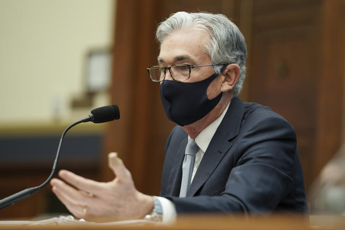 Federal Reserve Chairman Jerome Powell. Photo: Greg Nash/Pool via AP
