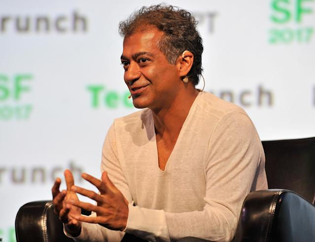 Naval Ravikant at TechCrunch Disrupt in San Francisco on September 18, 2017. (Getty Images for TechCrunch)