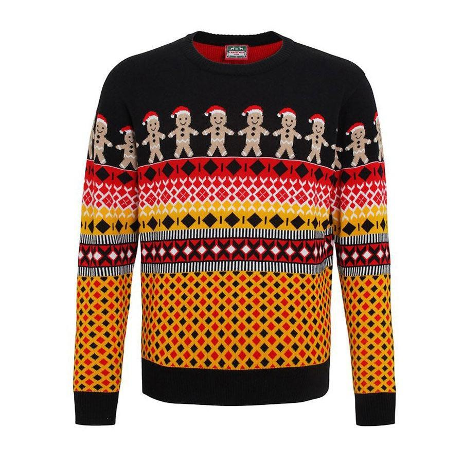 """<p>£19.99, <a href=""""http://www.cheesychristmasjumpers.com/product/gingerbread-man-christmas-jumper"""" rel=""""nofollow noopener"""" target=""""_blank"""" data-ylk=""""slk:Cheesy Christmas jumpers"""" class=""""link rapid-noclick-resp"""">Cheesy Christmas jumpers</a></p>"""