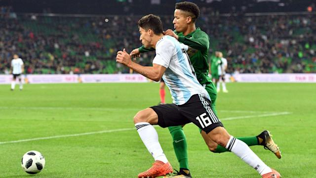 While the winger admitted that all La Albiceleste's games at the global event would be 'difficult', but he is most wary of Gernot Rohr's men