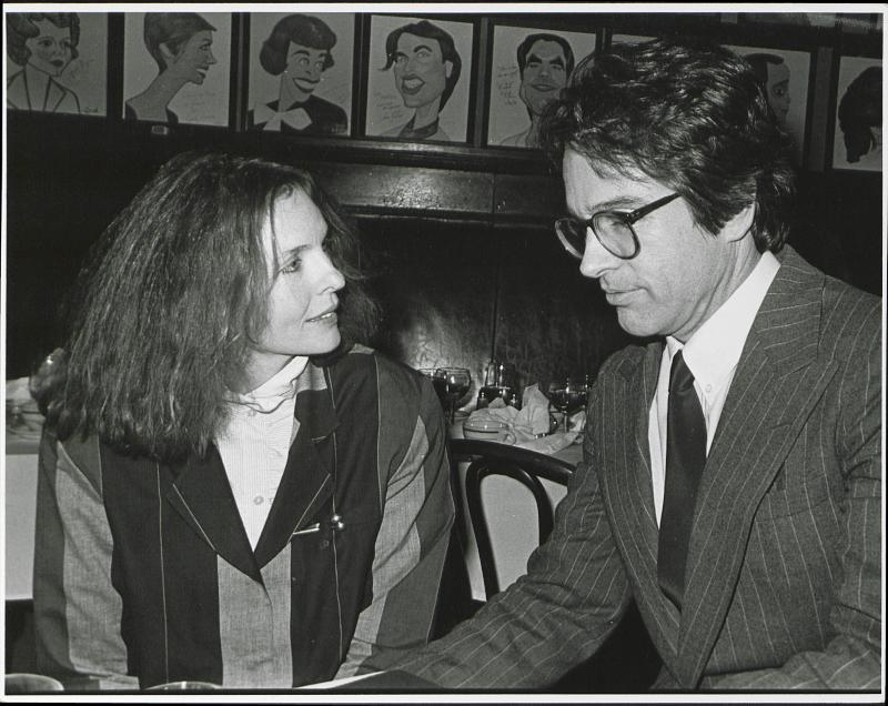 UNITED STATES - Diane Keaton and Warren Beatty (Photo by The LIFE Picture Collection via Getty Images/Getty Images)