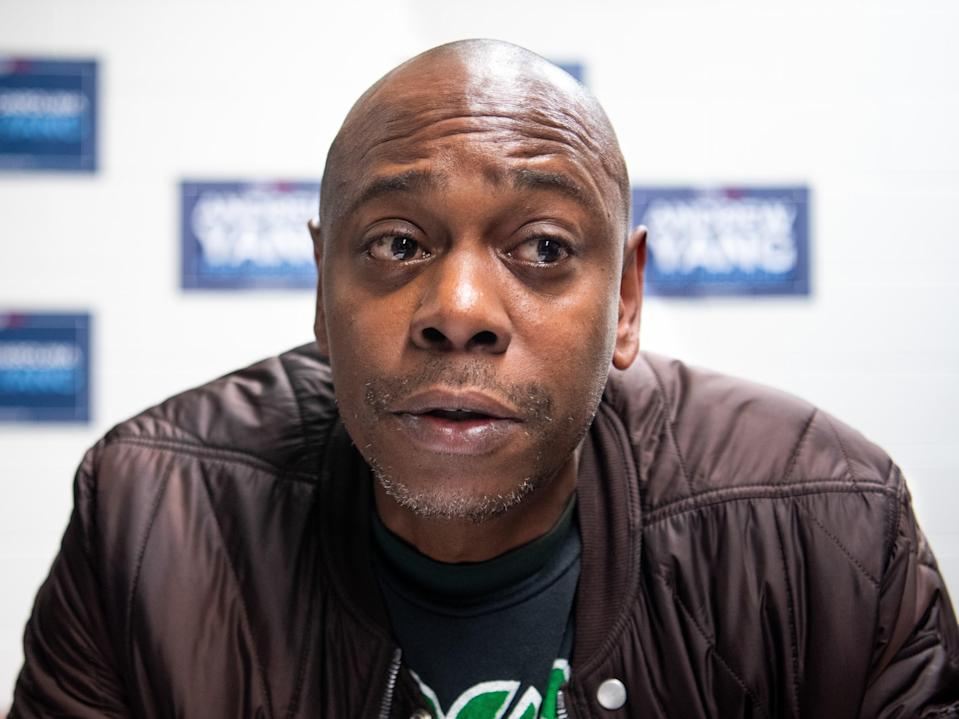 Dave Chappelle, pictured in January 2020 (Getty Images)