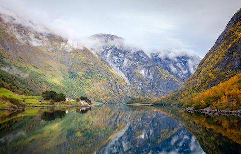 Sognefjord Norway - Credit: Getty