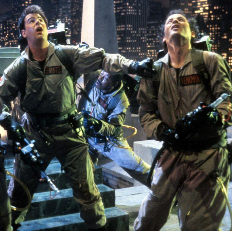 """<p>Before your group dresses up in their best ghost-busting ensembles, take some inspiration from the comedy ensemble that started it all. </p><p><a class=""""link rapid-noclick-resp"""" href=""""https://www.amazon.com/Ghostbusters-Bill-Murray/dp/B000PEX1IE/?tag=syn-yahoo-20&ascsubtag=%5Bartid%7C10055.g.29579568%5Bsrc%7Cyahoo-us"""" rel=""""nofollow noopener"""" target=""""_blank"""" data-ylk=""""slk:WATCH NOW"""">WATCH NOW</a></p><p><strong>RELATED:</strong> <a href=""""https://www.goodhousekeeping.com/holidays/halloween-ideas/g1422/group-halloween-costumes/"""" rel=""""nofollow noopener"""" target=""""_blank"""" data-ylk=""""slk:Group Halloween Costumes That Prove You're Squad Goals"""" class=""""link rapid-noclick-resp"""">Group Halloween Costumes That Prove You're Squad Goals</a></p>"""