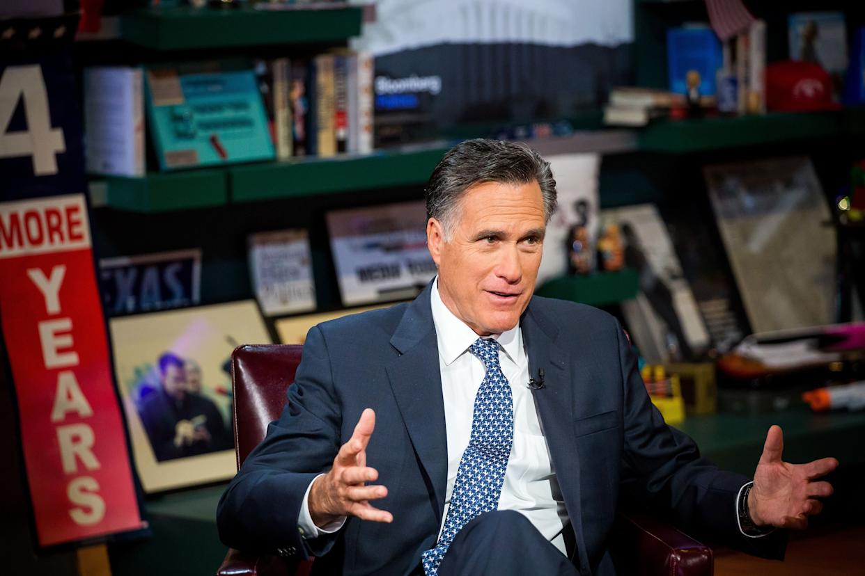 """""""I simply can&rsquo;t put my name down as someone who voted for principles that suggest racism or xenophobia, misogyny, bigotry, [for someone] who&rsquo;s been vulgar time and time again,&rdquo; <span>Romney said in June</span>.&nbsp;&ldquo;I don&rsquo;t want to be associated with that in any way, shape or form.&rdquo;"""