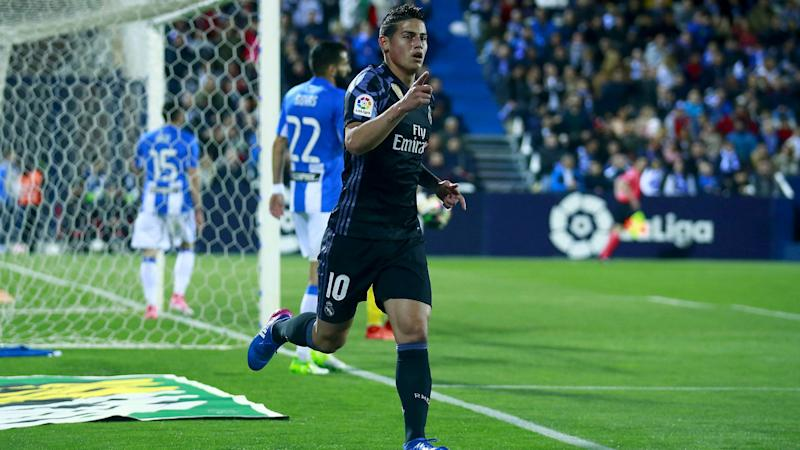 Zidane stresses need for Real Madrid strength in depth after James rages at substitution