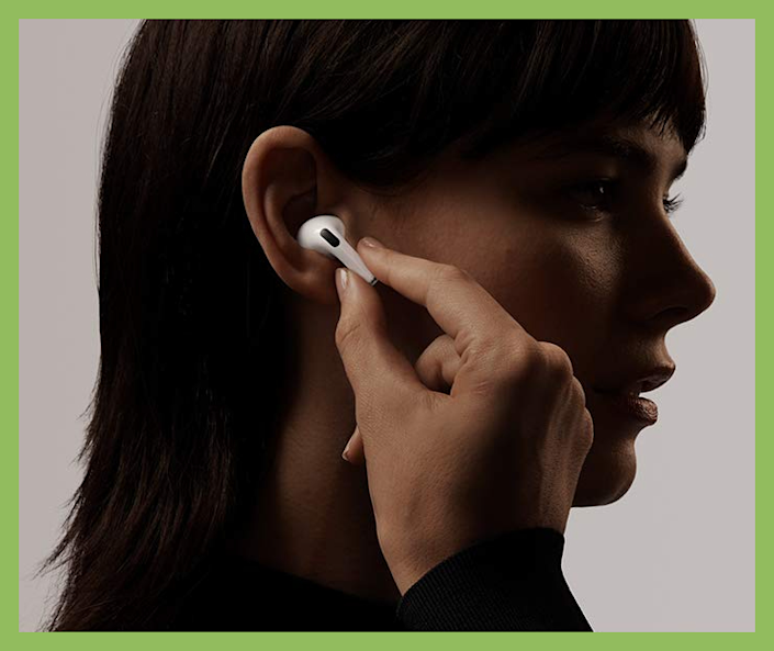 The latest Apple AirPods Pro are on sale for just $200. (Photo: Apple)