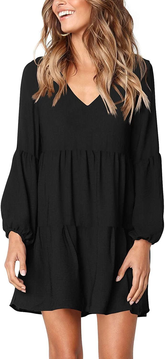 <p>This <span>Amoretu Tunic Dress</span> ($25) is a great fall essential.</p>
