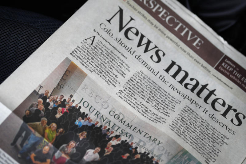 Editor who posted editorial on blog without permission fired
