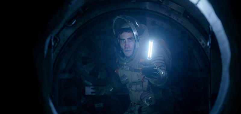 "In this image released by Columbia Pictures, Jake Gyllenhaal appears in a scene from ""Life."" (Alex Bailey/Columbia/Sony Pictures via AP)"