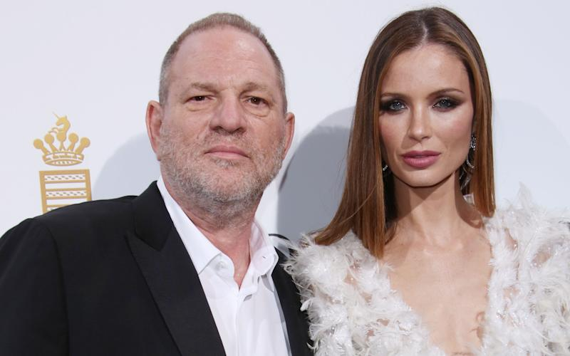 Harvey Weinstein with his wife, British designer Georgina Chapman - Copyright (c) 2016 BEimages. No use without permission.