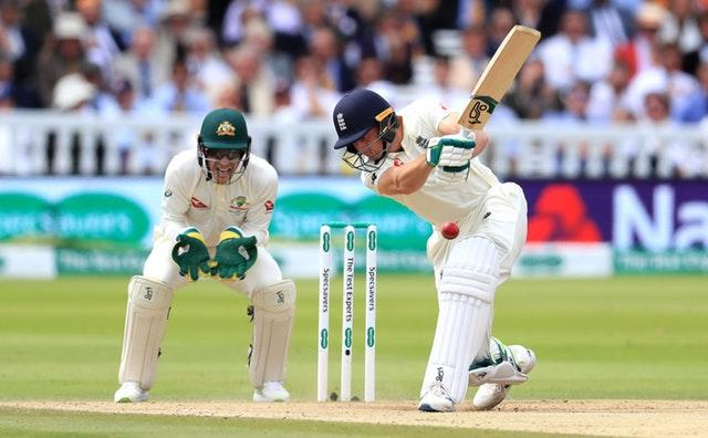 Jos Buttler in action on the final day